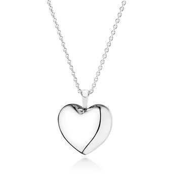 Love Locket, Clear CZ