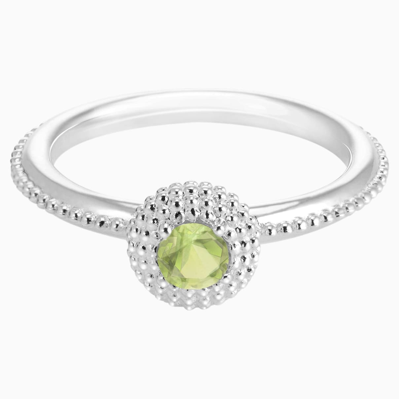 Swarovski Soirée Birthstone Ring August