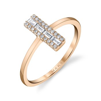 MARS 26825 Fashion Ring, 0.16 Ctw.