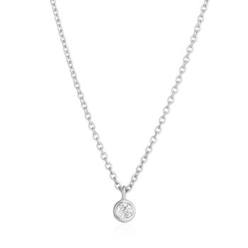 Bria | Diamond Solitaire Pendant