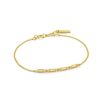 Modern Solid Bar Bracelet