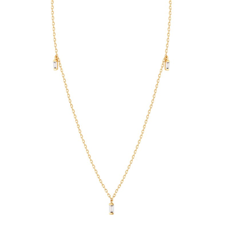 Aurelie Gi DEMI | Topaz Triple Necklace