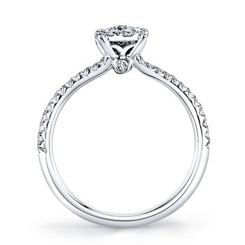 MARS 26160 Diamond Engagement Ring, 0.40 Ctw.