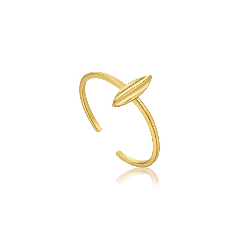 Ania Haie Leaf Adjustable Ring