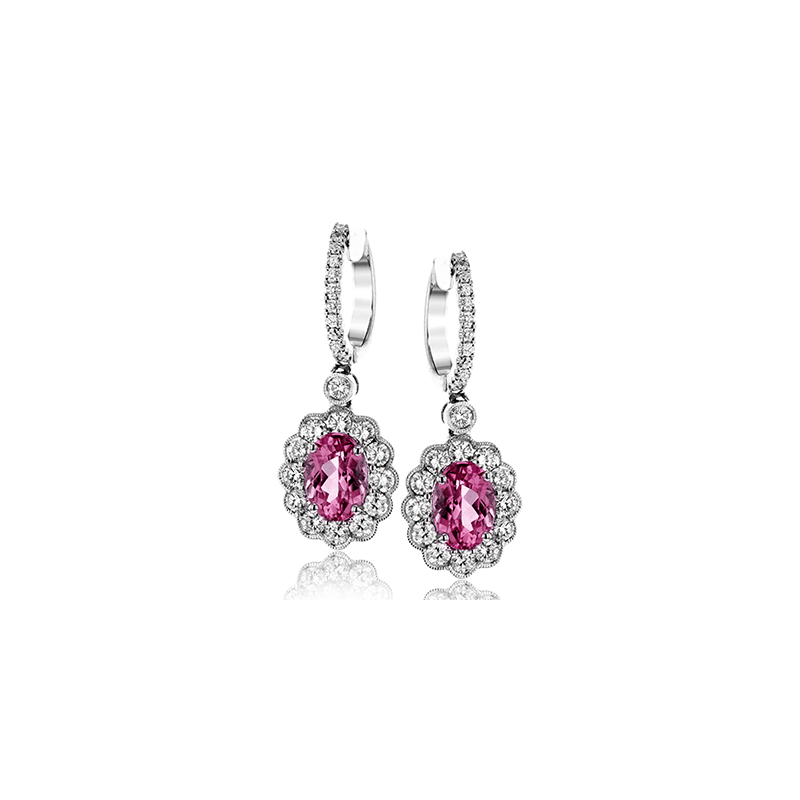 Simon G ME1757 COLOR EARRING