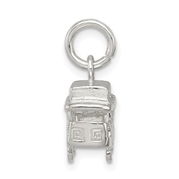 Sterling Silver Streetcar Charm