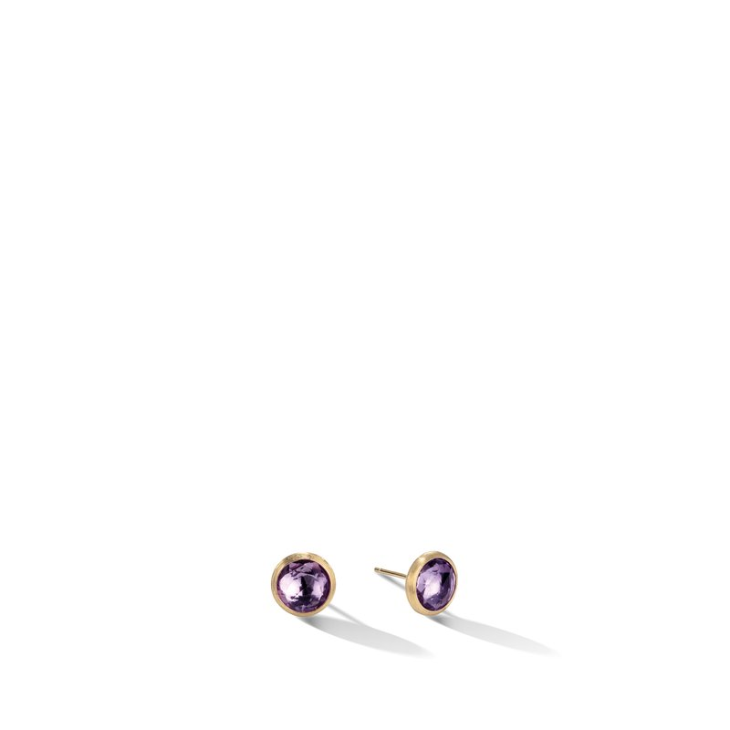 Marco Bicego Jaipur Amethyst Petite Stud Earrings