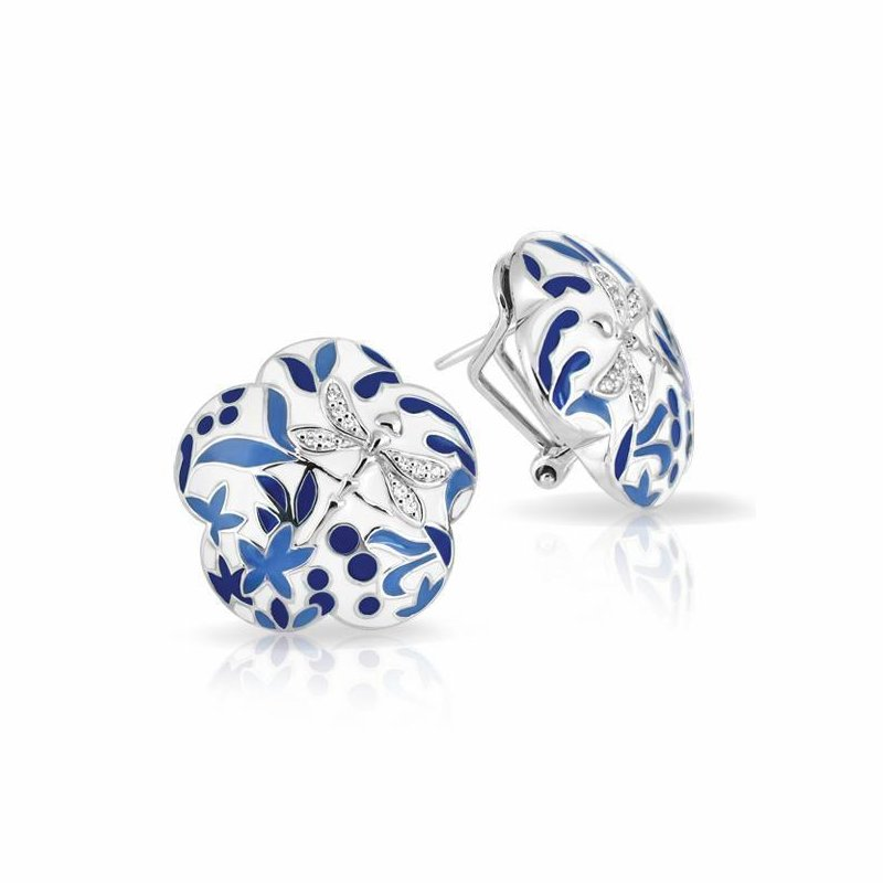 Belle Etoile Porcelain Earrings
