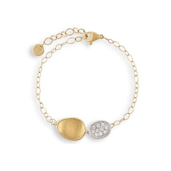 Diamond Lunaria Fashion Bracelet
