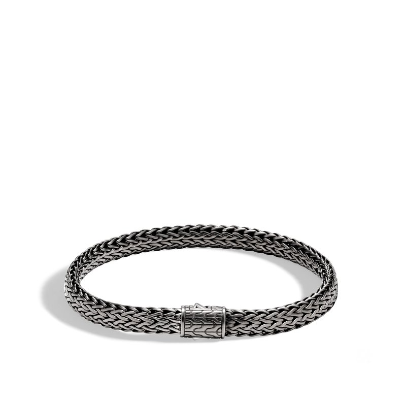 JOHN HARDY Classic Chain 6.5MM Bracelet in Blackened Silver