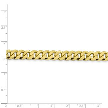 10k 8.25mm Flat Beveled Curb Chain