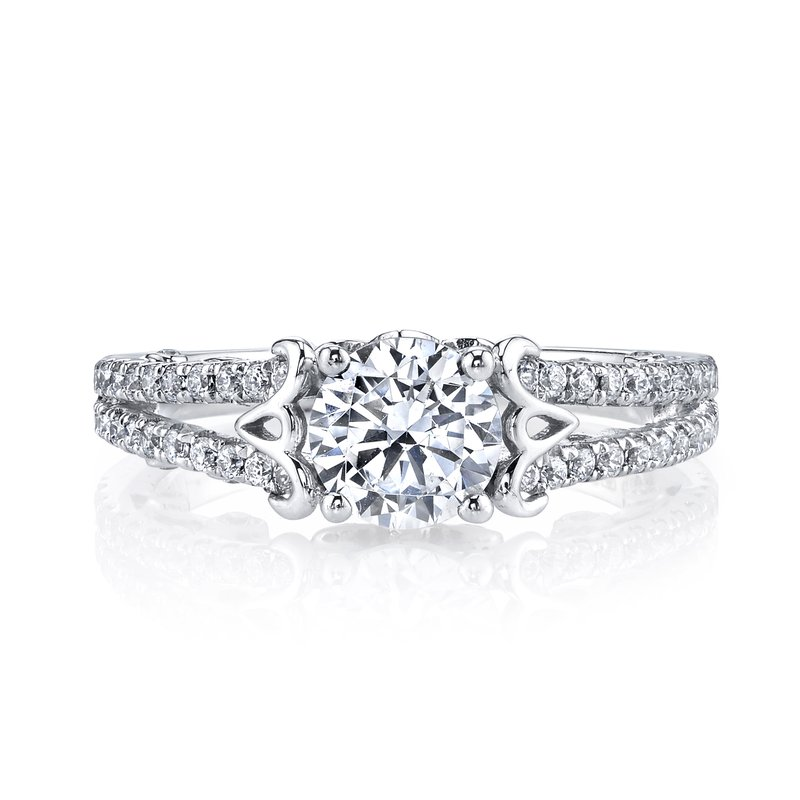 MARS Jewelry MARS 26130 Diamond Engagement Ring, 0.50 Ctw.