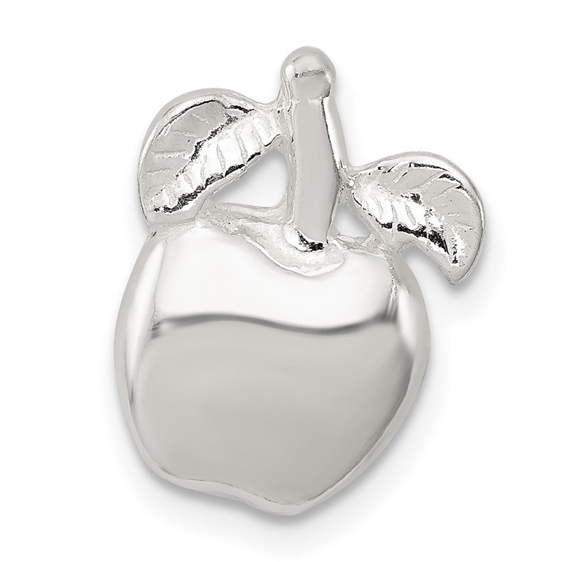Quality Gold Sterling Silver Apple Pendant