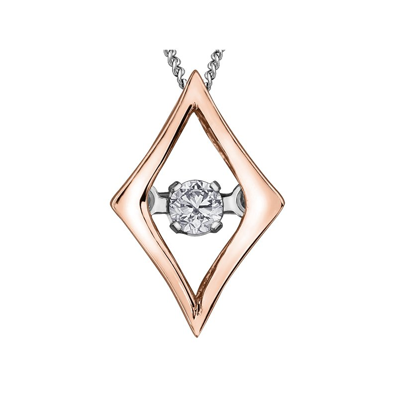 VanValkenburg Collection Pulse™ Diamond Solitaire Pendant