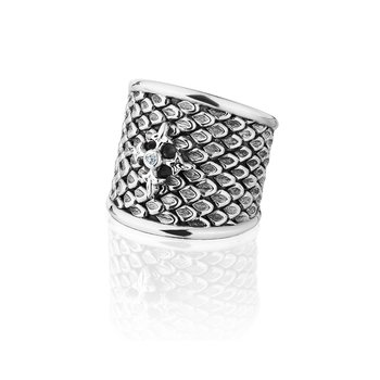 Signature Wide Logo Ring