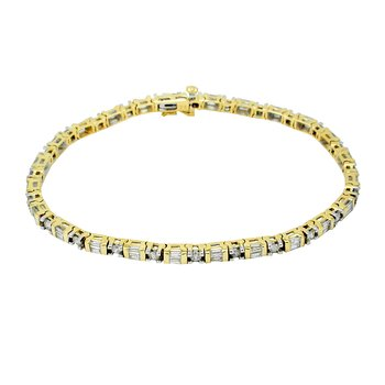 14K YG Diamond All Purpose Bracelet