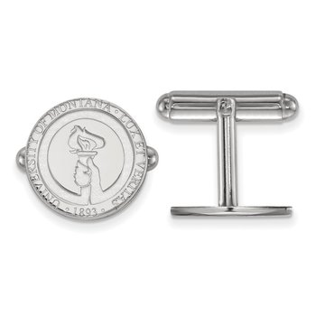 Sterling Silver University of Montana NCAA Cuff Links