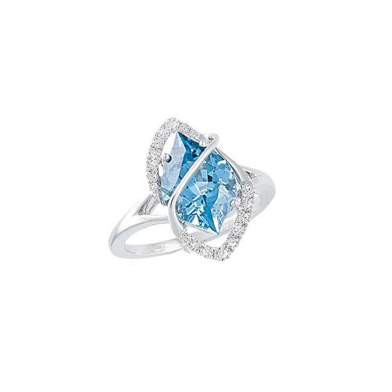 Chatham Aqua Blue Spinel Ring-CR9998WAQ
