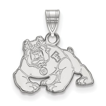 Sterling Silver California State University Fresno NCAA Pendant