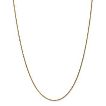 14k 1.65mm Spiga Chain