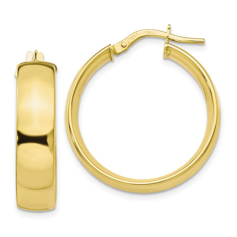 Leslie's Leslie's 10K Polished Hoop Earrings