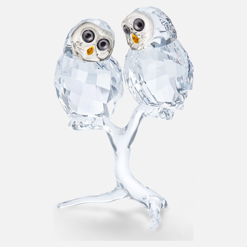 Swarovski Owl Couple