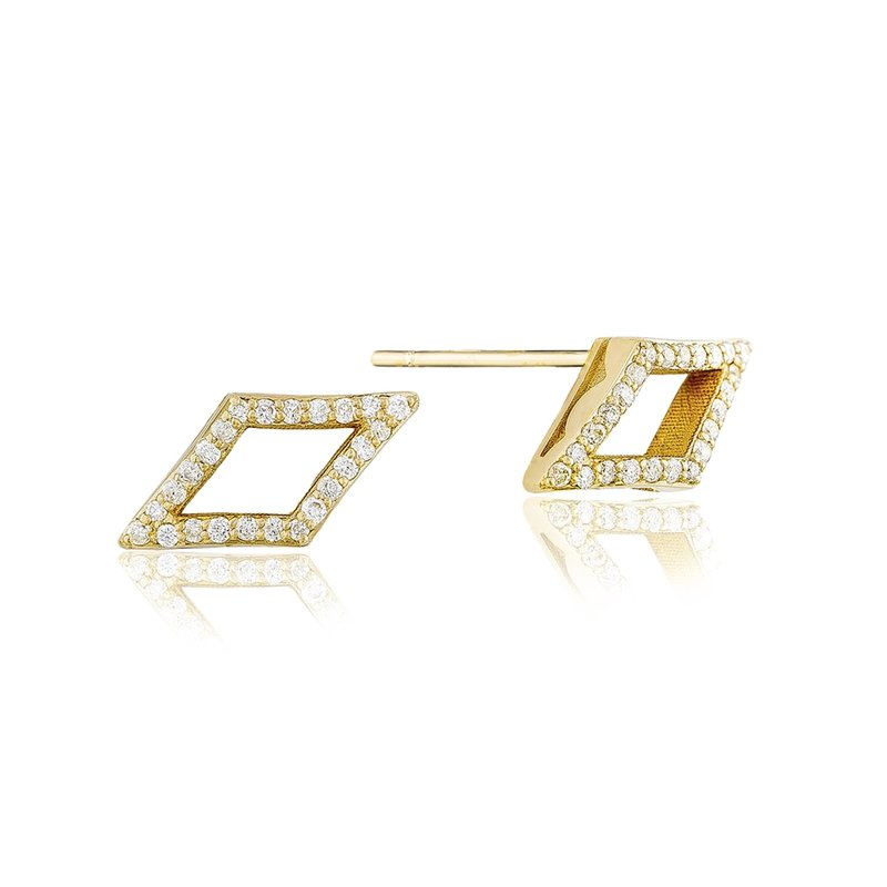 Tacori Fashion Pavé Chevron Stud