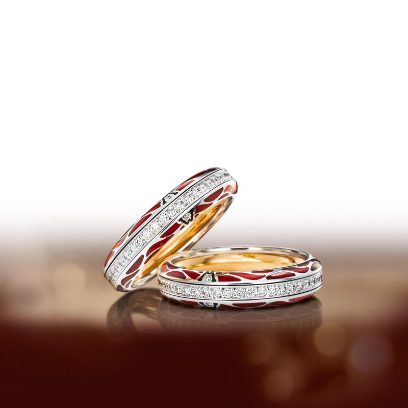 Wellendorff RING GENUINE DELIGHT RUBY
