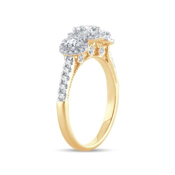14K 1.00Ct Diamond Ring