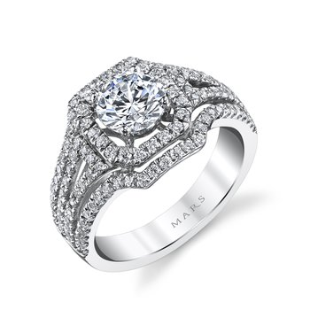 Diamond Engagement Ring 0.75 ctw