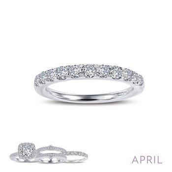 April Birthstone Ring
