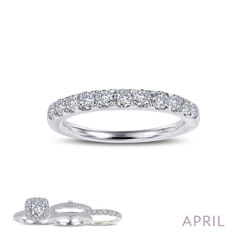 LaFonn April Birthstone Ring