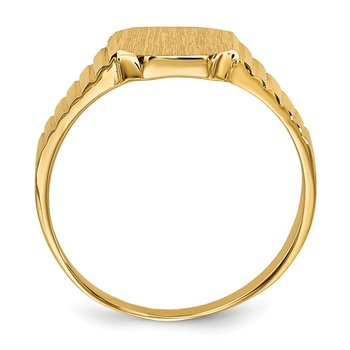 14k Child's Signet Ring
