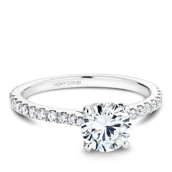 Noam Carver Modern Engagement Ring B142-01A