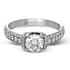 Zeghani ZR1229 ENGAGEMENT RING