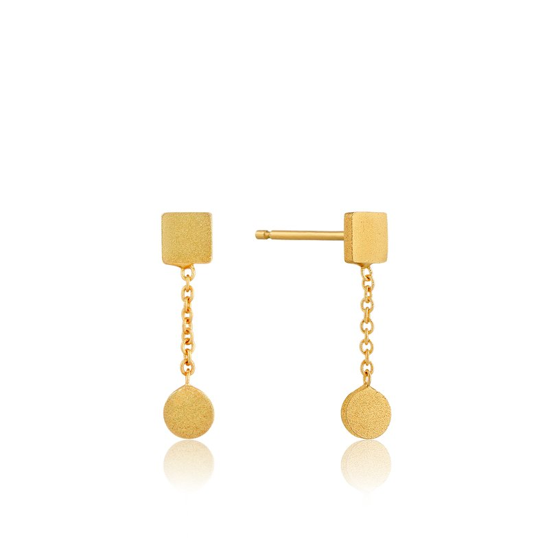 Ania Haie Two Shape Drop Earrings