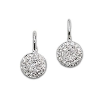 Wedding Cakes Diamond Earrings