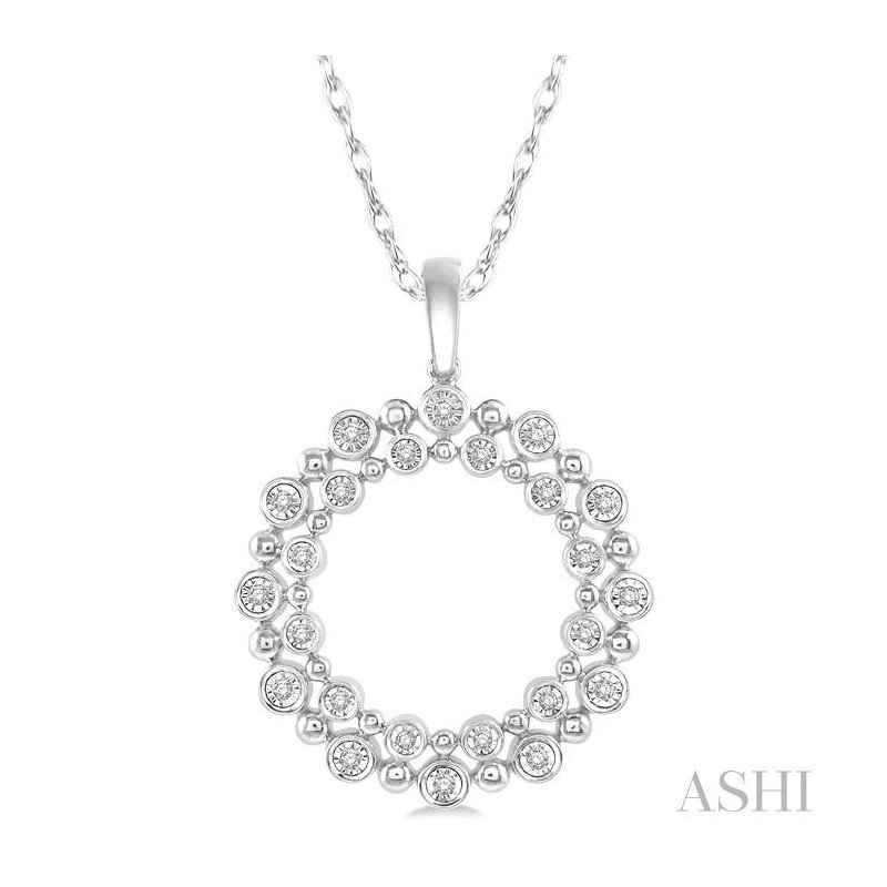 ASHI diamond fashion pendant