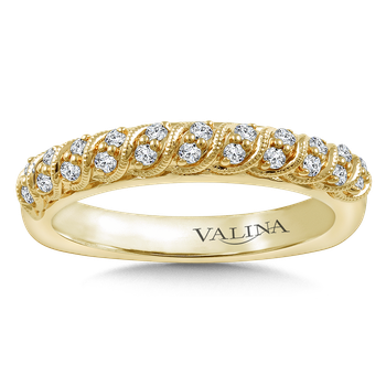 Stackable Wedding Band in 14K Yellow Gold (.20 ct. tw.)