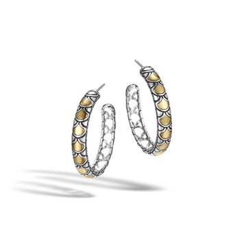 Legends Naga Medium Hoop Earrings