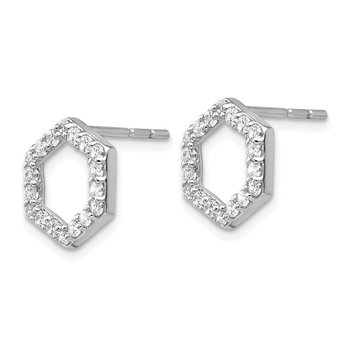 14kw True Origin Lab Grown Dia VS/SI D,E,F Earrings