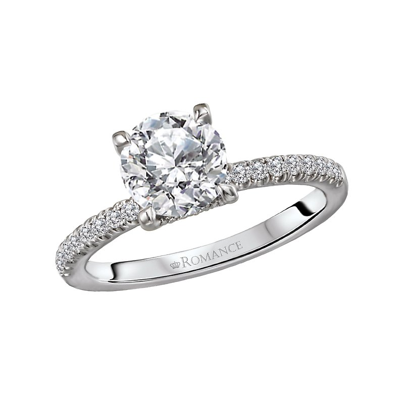 Diamond Semi Mount Engagement Ring