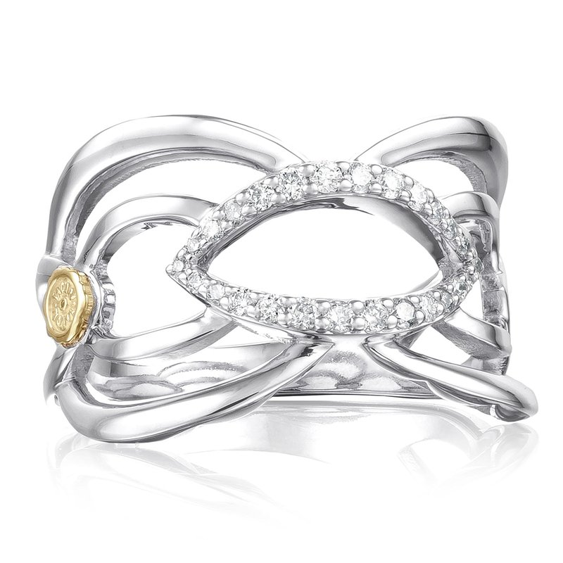 Tacori Fashion Crescent Trellis Ring