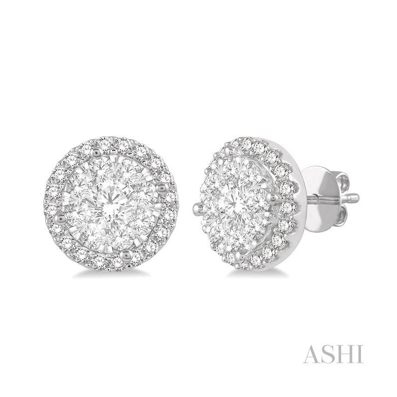 Barclay's Signature Collection lovebright essential diamond earrings