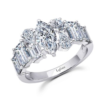 3.8 CTW Half-Eternity Band