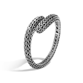 Classic Chain Kick Cuff in Silver