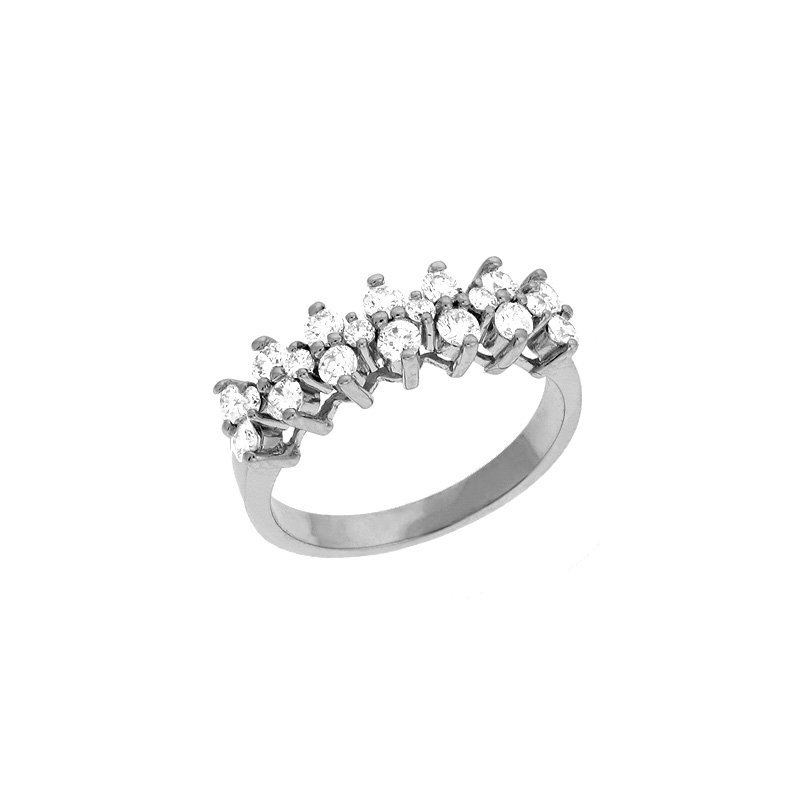 S. Kashi  & Sons Prong Set Diamond Band