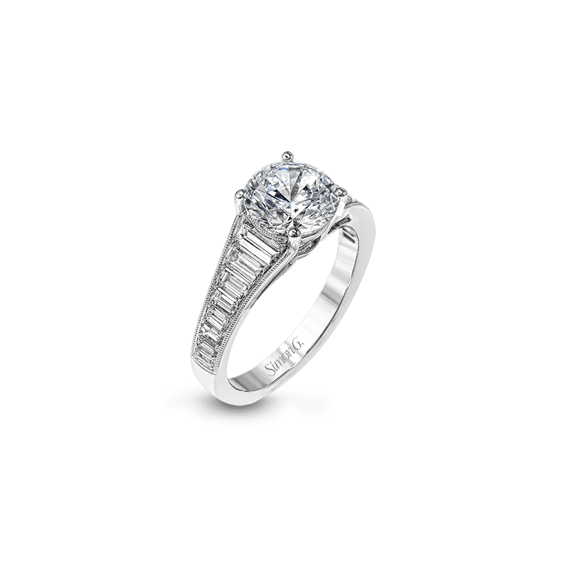 Simon G MR2358 ENGAGEMENT RING