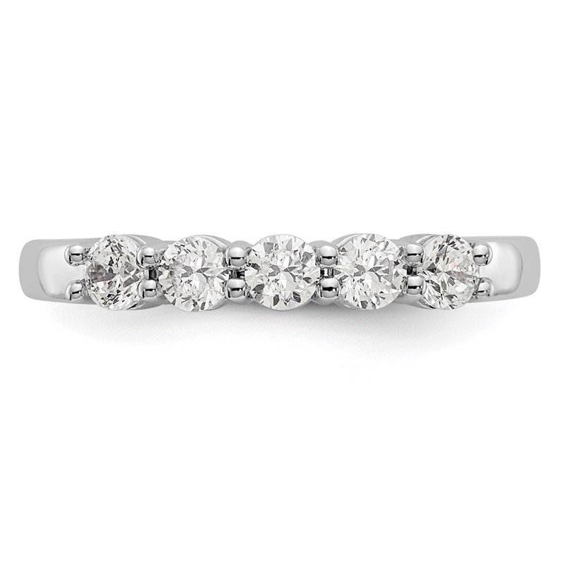 True Origin 14kw True Origin Lab Grown Diamond VS/SI, D E F, 5-Stone Band