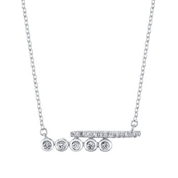 MARS 26834 Fashion Necklace, 0.08 Ctw.